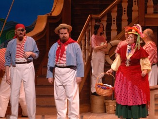 Boatswain in H.M.S. Pinafore with Lyric Opera San Diego
