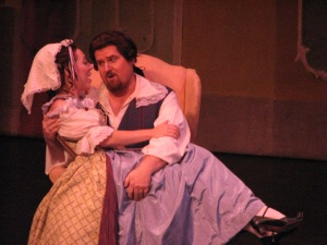 Figaro in The Marriage of Figaro with Rimrock Opera