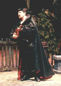 Mephistopheles in Faust with Indiana University Opera Theater