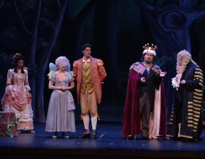 Lord Mountararat in Iolanthe with Lyric Opera San Diego