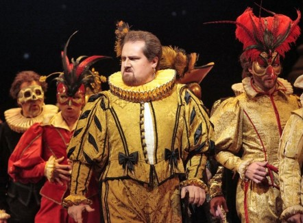 Count Ceprano in Rigoletto with San Diego Opera