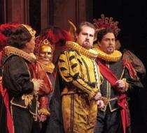 Count Ceprano in Rigoletto with San Diego Opera