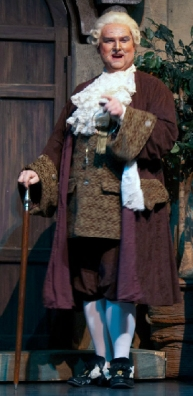 Dr. Bartolo in Barber of Seville with Rimrock Opera